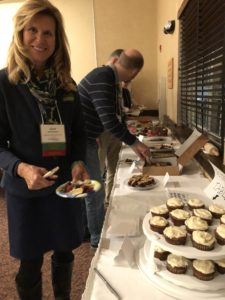 Carol Abrahamzon had the dubious honor of tasting all the entries